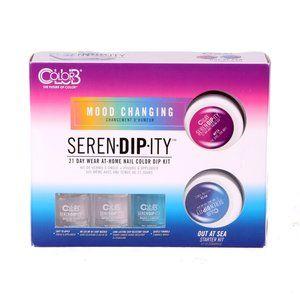 Color Club Serendipity Mood Nail Kit- Out At Sea